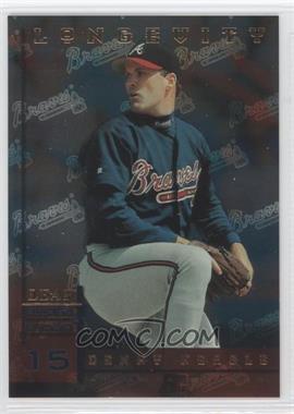 1998 Leaf Rookies & Stars - [Base] - Longevity #80 - Denny Neagle /50