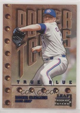 1998 Leaf Rookies & Stars - [Base] - True Blue #158 - Roger Clemens /500