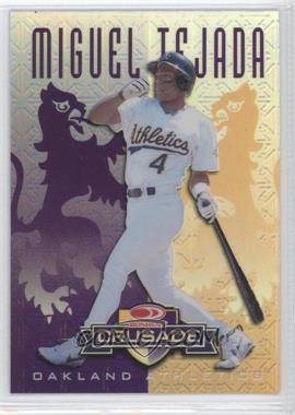 1998 Leaf Rookies & Stars - Crusade Update - Purple #103 - Miguel Tejada /100