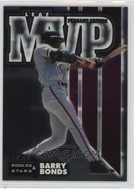 1998 Leaf Rookies & Stars - MVP - Pennant Edition #16 - Barry Bonds /5000