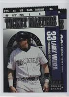 Larry Walker, Todd Helton /250