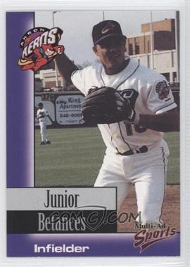 1998 Multi-Ad Sports Akron Aeros - [Base] #20 - Junior Betances
