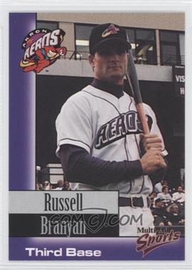 1998 Multi-Ad Sports Akron Aeros - [Base] #22 - Russell Branyan