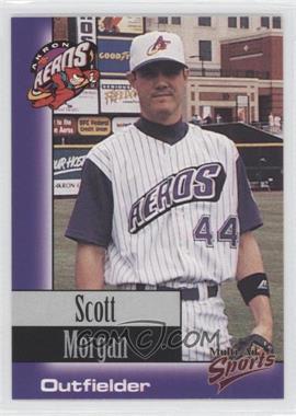 1998 Multi-Ad Sports Akron Aeros - [Base] #28 - Scott Morgan