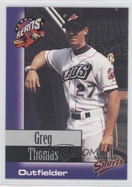 1998 Multi-Ad Sports Akron Aeros - [Base] #30 - Greg Thomas