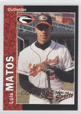 1998 Multi-Ad Sports Delmarva Shorebirds - [Base] #20 - Luis Matos