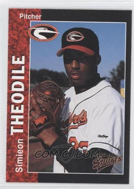 1998 Multi-Ad Sports Delmarva Shorebirds - [Base] #29 - Simieon Theodile