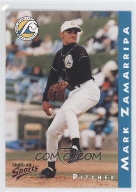 1998 Multi-Ad Sports West Michigan Whitecaps - [Base] #16 - Mark Zamarripa