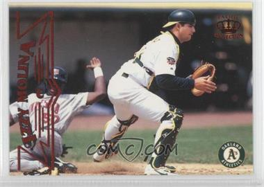 1998 Pacific Crown Collection - [Base] - Red Threatt #170 - Izzy Molina