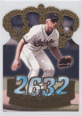 1998 Pacific Crown Collection - Consecutive Games Gold Crown Die-Cut #1 - Cal Ripken Jr.