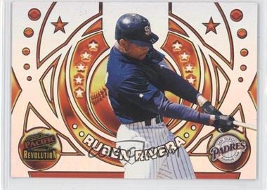 1998 Pacific Revolution - Rookies and Hardball Heroes #18 - Ruben Rivera