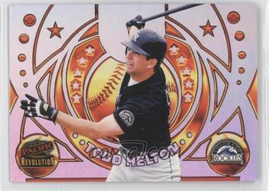 1998 Pacific Revolution - Rookies and Hardball Heroes #6 - Todd Helton