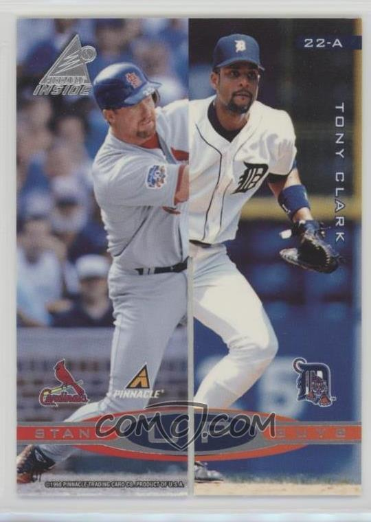 1998 Pinnacle Inside Stand Up Guys 22 A Mark Mcgwire Tony