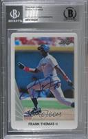 Frank Thomas (1990 Leaf) [BGS Authentic] #/999