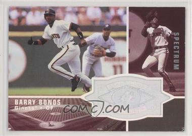1998 SPx Finite - [Base] - Spectrum #164 - Barry Bonds /1750