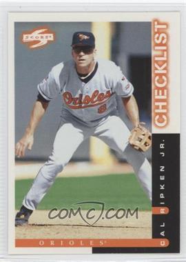 1998 Score - [Base] #268 - Cal Ripken Jr.