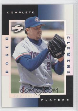 1998 Score - Complete Players - Sample #8A - Roger Clemens