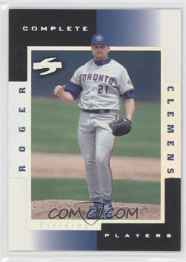 1998 Score - Complete Players - Sample #8C - Roger Clemens