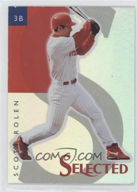 1998 Select Selected - Samples #9 - Scott Rolen