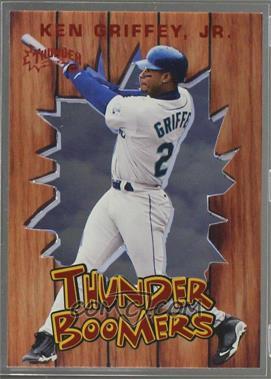 1998 Skybox Circa Thunder - Thunder Boomers #6 TB - Ken Griffey Jr.