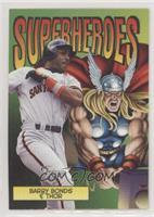 Barry Bonds & Thor