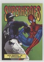Ken Griffey Jr. & Spider-Man