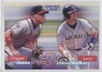 Larry Walker, Chipper Jones
