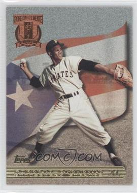 1998 Topps - A Tribute to Roberto Clemente #RC5 - Roberto Clemente