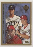 Chad Hermansen, Brent Butler, Warren Morris
