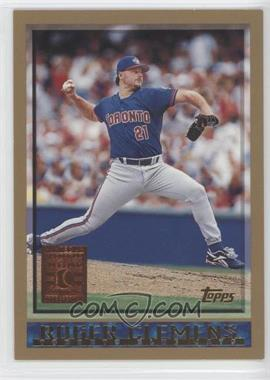 1998 Topps - [Base] - Minted in Cooperstown #300 - Roger Clemens