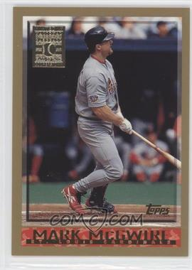 1998 Topps - [Base] - Minted in Cooperstown #325 - Mark McGwire