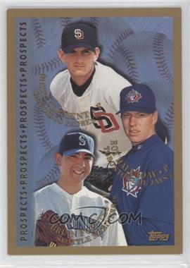 1998 Topps - [Base] #264 - Roy Halladay, Brian Fuentes, Matt Clement