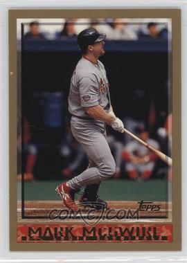 1998 Topps - [Base] #325 - Mark McGwire