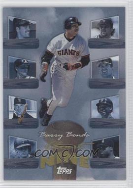 1998 Topps - Clout Nine #C7 - Barry Bonds