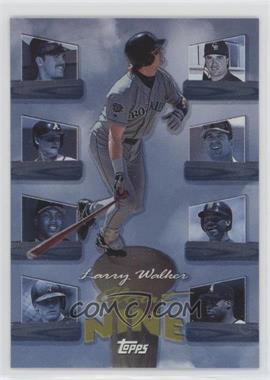 1998 Topps - Clout Nine #C9 - Larry Walker