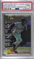 Ken Griffey Jr., Larry Walker, Andres Galarraga, Randy Johnson [PSA 9&nbsp…