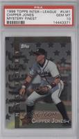Chipper Jones, Cal Ripken Jr., Greg Maddux, Rafael Palmeiro [PSA 10]