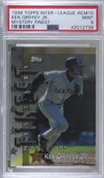 Ken Griffey Jr., Larry Walker, Andres Galarraga, Randy Johnson [PSA 9 …