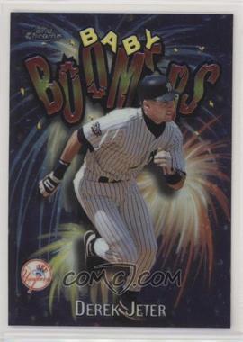 1998 Topps Chrome - Baby Boomers #BB1 - Derek Jeter - Courtesy of COMC.com