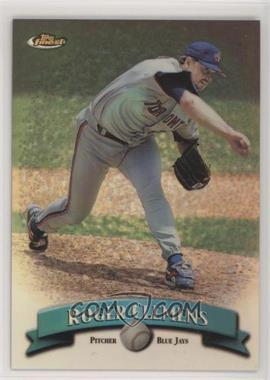 1998 Topps Finest - [Base] - No Protector Refractors #40 - Roger Clemens