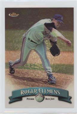 1998 Topps Finest - Jumbo - Refractor #7R - Roger Clemens