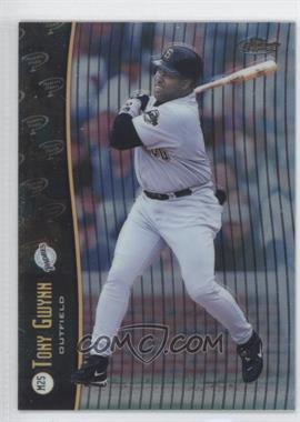 1998 Topps Finest - Mystery Finest Series 1 #M25 - Tony Gwynn, Barry Bonds