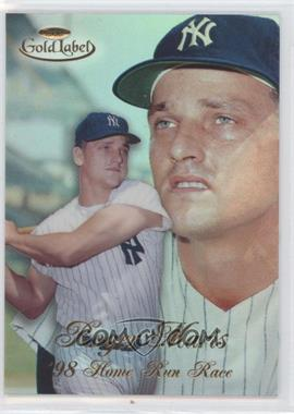 1998 Topps Gold Label - Home Run Race #HR1 - Roger Maris
