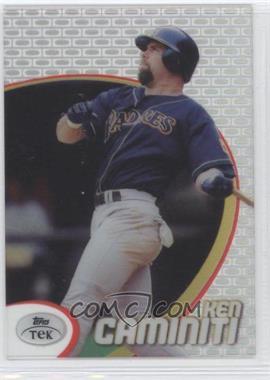 1998 Topps Tek - [Base] - Pattern 10 #68 - Ken Caminiti