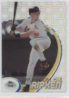 1998 Topps Tek - [Base] - Pattern 29 #51 - Cal Ripken Jr.
