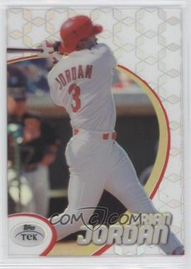 1998 Topps Tek - [Base] - Pattern 45 #75 - Brian Jordan
