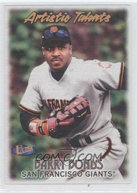 1998 Ultra - Artistic Talents #17 AT - Barry Bonds