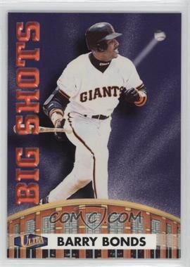 1998 Ultra - Big Shots #8BS - Barry Bonds