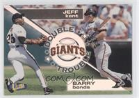 Barry Bonds, Jeff Kent