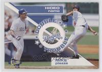 Mike Piazza, Hideo Nomo